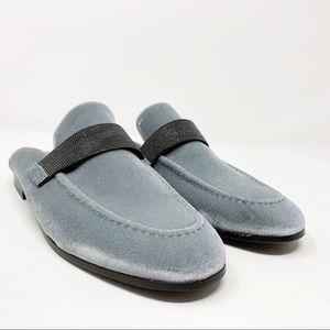 Brunello cuncinelli mules loafers